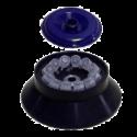 Rotor para CENTRIFUGA-VORTEX CM50M FUGAMIX. Rotor 12x1,5-2 ml. con tapa, para centrifugación (15.000 RPM. 16.000 g )