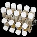 Plataforma PRSC18, para 18 tubos 15 ml (Ø 15-20 mm) y 12 tubos2-15 ml.