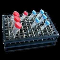 Bandeja con muelles para hasta 88 tubos de hasta 30 mm. diámetro. PSU10/ES20