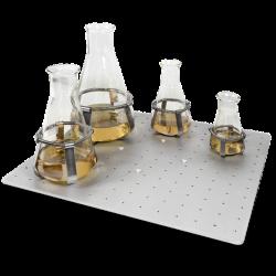 Bandeja universal, 40x36 cm, con alfombrilla antideslizante. PSU20i/ES-20/60.
