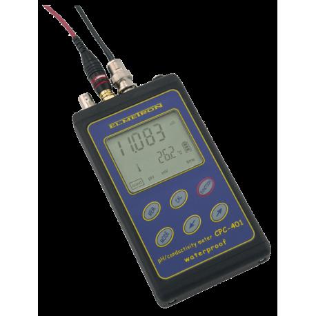 pH-METRO/CONDUCTÍMETRO/SALINOMETRO/TERMOMETRO CPC-401