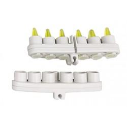 Para tubos de 6x1,5/2ml (pack de 2) permite agitación vertical y horizontal.