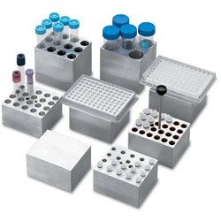 D-1196-PCR Bloque de aluminio para Placas PCR de 96, con o sin faldon ( solo D-1100)