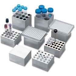 D-1296-PCR Bloque de aluminio para Placas PCR de 96, con o sin faldon ( solo D-1200)