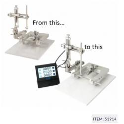 Conversión de estereotáxico, añadiendo brazo manipulador digital, izquierdo.