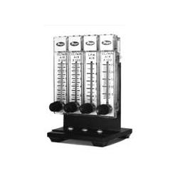 """CONJUNTO VALVULAS EXTERNAS PARA CONEXIÓN A SAR-830 - Mod. """"EFM-4"""" Conjunto de 4 medidores / controladores de flujo. Cwe I"""
