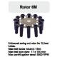 Rotor Angular 12x15 ml. (17x150 mm.) 3500 RPM.