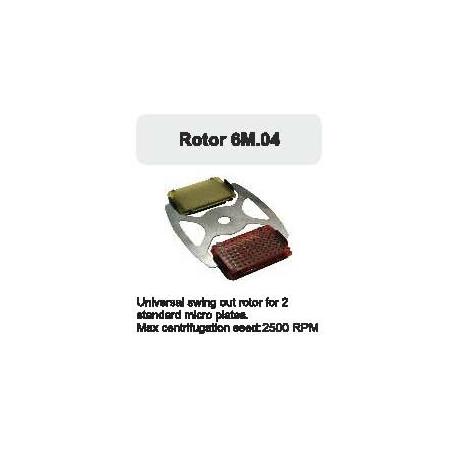 Rotor Oscilante para 2 microplacas. 2500 RPM.