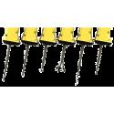 Sonda titánio de 14 mm. (80 mm Long.) para vol 50-1000 ml. Amplitud: 1:1,2,para UP200Ht y UP200St
