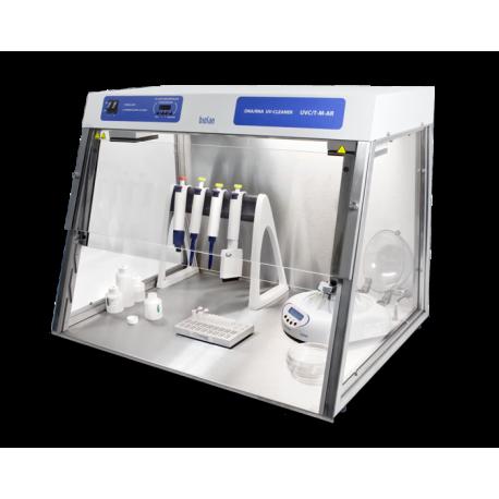 Cabina para PCR con recirculación UVC/TM-AR