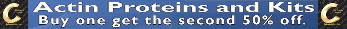 50% de Descuento en Segunda Unidad Cytoskeleton